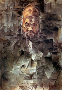 Pablo Picasso - Portrait of ambroise vollard-1910